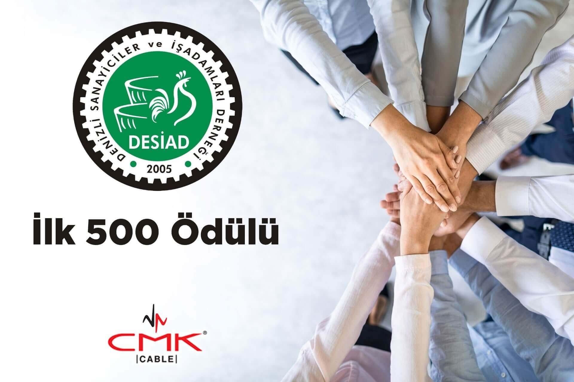 DESİAD'DAN İLK 500 ÖDÜLÜ