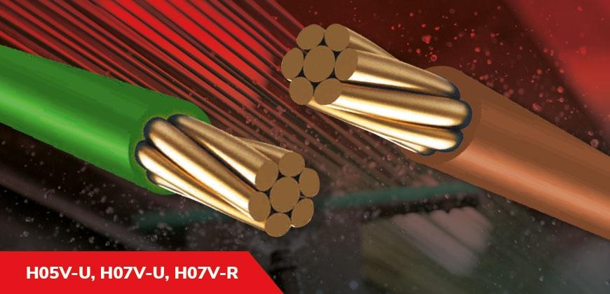 H05V-U, H07V-U, H07V-R